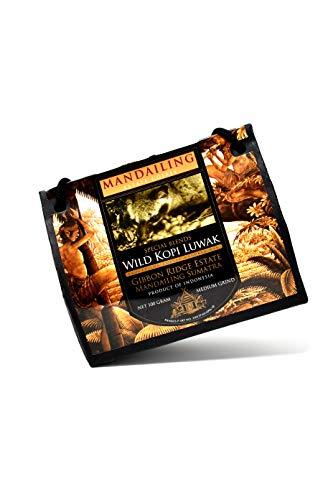 Kopi Luwak von freilebenden Tieren (Gemahlener Kaffee) - Die seltensten Kaffee der Welt -