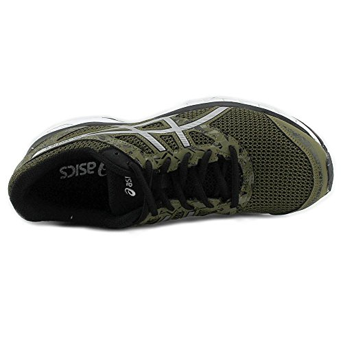 Asics Gel-Excite 4 Synthétique Chaussure de Course Martini Olive-Silver-Black