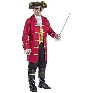 Traje de Pirata de Vestir América Elite Hombres (Pequeño)