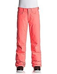 Roxy Backyard Pt Pantalones para Nieve, Mujer, Rosa (Emberglow Solid), L