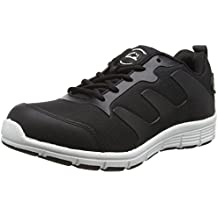 Groundwork Gr95 - Zapatillas de seguridad Unisex adulto, negro, 35.5
