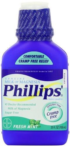 Le lait de magnésie menthe fraîche 26 fl.oz Phillips