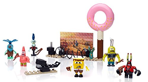 Mattel Mega Bloks CND26 Spongebob Squarepants - Movie Figure Pack