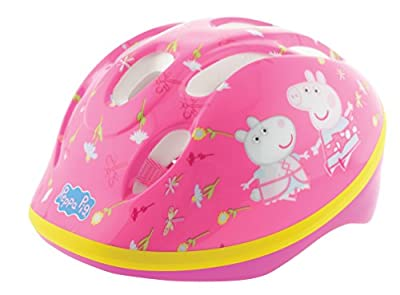 Peppa Pig Girls' Safety Helmet from MV Sports & Leisure Ltd