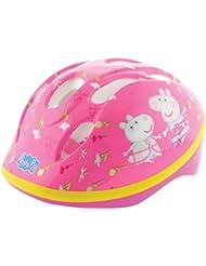 Peppa Pig niñas 'casco de seguridad, Seguridad, niña, color rosa, tamaño 48 - 52-Inch