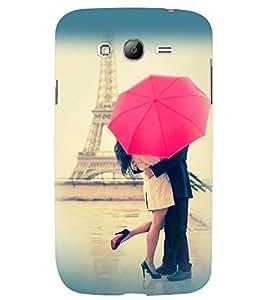 Printvisa Love Couple Under An Umbrella Back Case Cover for Samsung Galaxy Grand Neo::Samsung Galaxy Grand Neo i9060::Samsung Galaxy Grand Neo Plus::Samsung Galaxy Grand Neo Plus i9060i