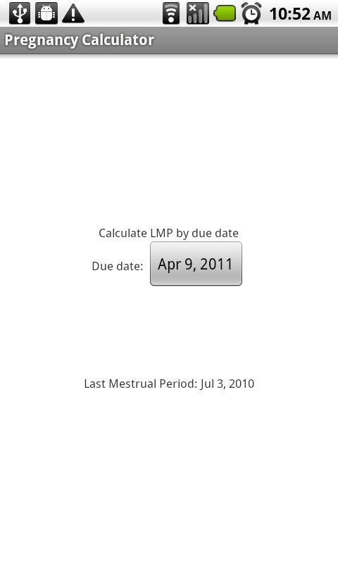 Pregnancy-Calculator