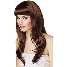 Bridas de hípica de la peluca marrón chocolate