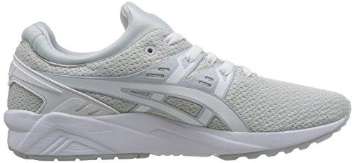ASICS Uomo Bianco Gel Kayano Evo Sneaker H 742 N