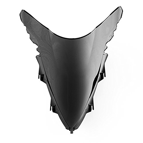 RACING Verkleidungsscheibe Yamaha R1 RN22 09-13 Windschild SMOKE