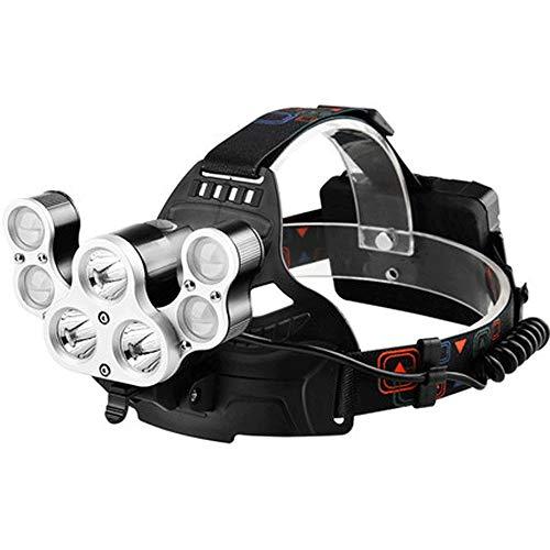 DJSkd Outdoor Scheinwerfer Blendung Wiederaufladbare Leuchte Superhelle Multifunktions-Taschenlampe Led Nachtfischen Lichter Skorpion Bergmann Lampe - Bergmann Tasche