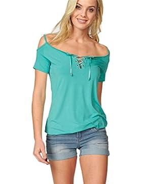 Camiseta de Mujer 💋💝 Yesmile Tops Suelto Blusa Causal Camisetas Ocasionales Tops Verde del Verano de las Mujeres...