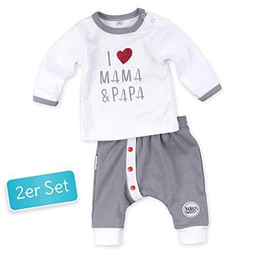 Neugeborenes Baby Badeanzug - Baby Sweets 2er Babyset Erstausstattung Shirt