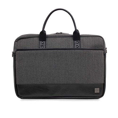 Knomo 43-201-BKG Holborn Princeton Laptop Toploader 39,6 cm (15,6 Zoll) schwarz/grau (Knomo Laptop)