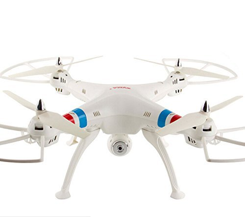 Syma X8C Venture 4-Channel 2.4GHz 6 Axis RC (Remote Control) Quadcopter with 2MP Camera white -