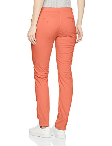 Daniel Hechter Damen Hosen Chino Orange (Campari 185)