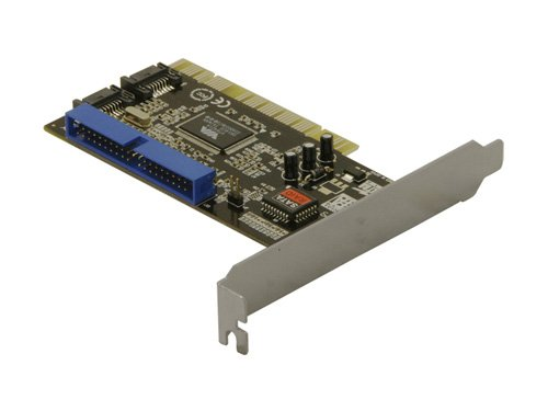 PCI Controller Karte 2 x S-ATA, 1 x IDE -