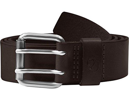 Fjällräven Herren Singi Two-Pin Belt Gürtel, Leather Brown, 85 cm