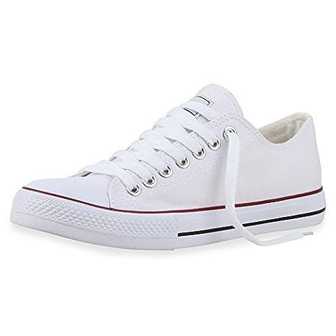 best-boots Damen Turnschuh Sneaker Retwin Slipper Weiß 1359 Größe 43