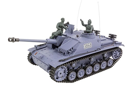 "XciteRC 35530000 Panzer Sturmgeschütz III AUSF.G.SD.KFZ 142-1\""-RTR Sound und Smoke 2.4 GHz"