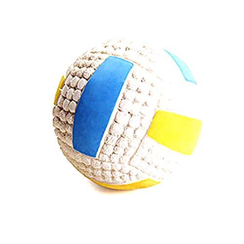 Beito Latex Durable und quietschende Hundekugel Spielzeug Soft Chew Biss beständig Welpen-Spielzeug für Haustier-Trainings-Spielen-Volleyball