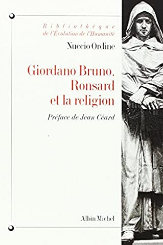 Giordano Bruno, Ronsard et la Religion