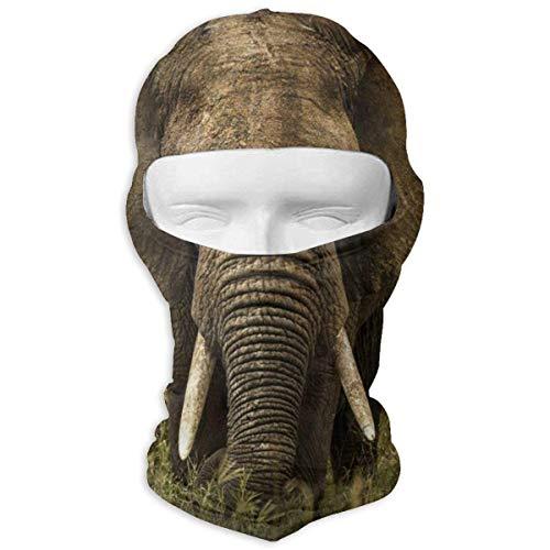 Jxrodekz Máscara Facial Completa/protección contra el Polvo Transpirable de los Elefantes Máscara...