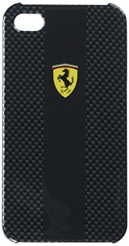 ferrari- Schutzhülle Faser Carbon schwarz iPhone 4/4S Ferrari