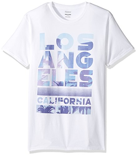 Vintage Cali Collection T-Shirt, White/Los Angeles, 2X Large ()