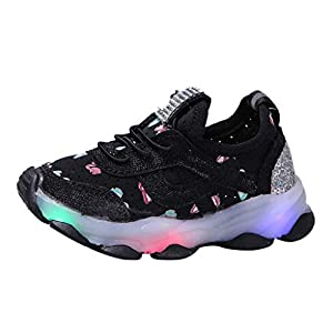 A-Arist LED Schuhe Leuchtend Schuh USB Aufladen Sneakers Atmungsaktiv und bequem Turnschuhe brillant Stil Schuhe für Kinder Jungen Mädchen