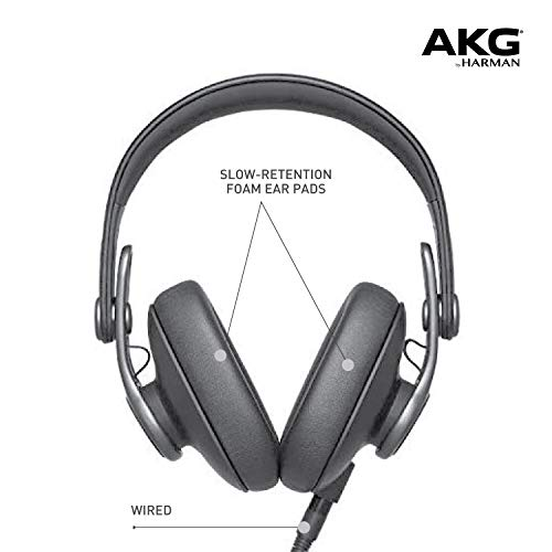 AKG Ok371 Over-Ear, Closed-Again, Foldable Studio Headphones Image 4