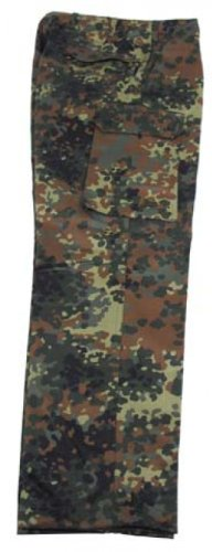 MFH BW Pantalon en moleskine Doublure matelassée avec poches latérales Multicolore - BW Camo