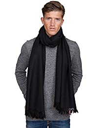 Twill Weave Merino Handwoven Oversize Scarf 100 X 200cm