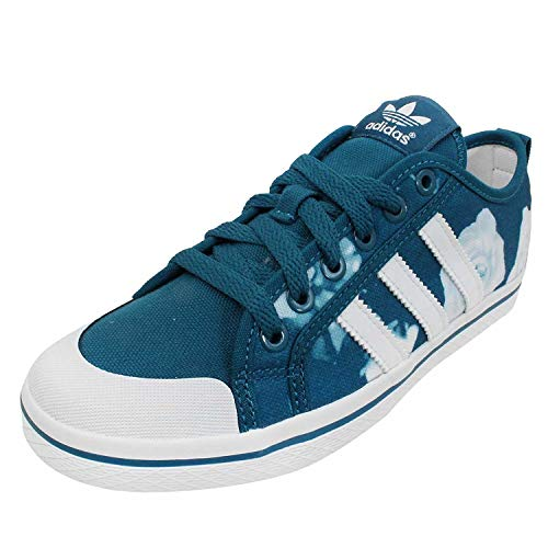 adidas Originals Honey Stripe Canvas Sneaker (40 EU, blau)
