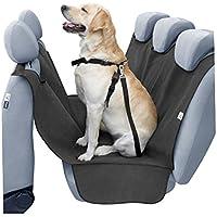 Auto de asiento trasero Protección para mascotas perro techo de peluche esquina