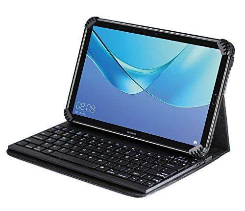 Navitech New Fall / Abdeckung / Tasche / Hülle mit Standfunktion und QWERTZ Bluetooth Tastatur kompatibel mit ASUS Google Nexus 7 | ASUS Nexus 7