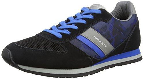 HACKETT - Sutton Street Sneaker, Pantofole da uomo, multicolore (9dublk/grey), 40