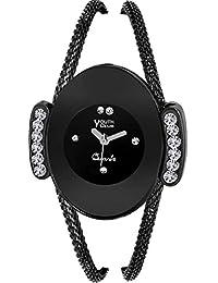Youth Club Analog Black Dial Women's Watch - (YC_1)