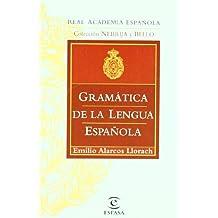 GRAMÁTICA DE LA LENGUA ESPAÑOLA (GRAMATICAS)