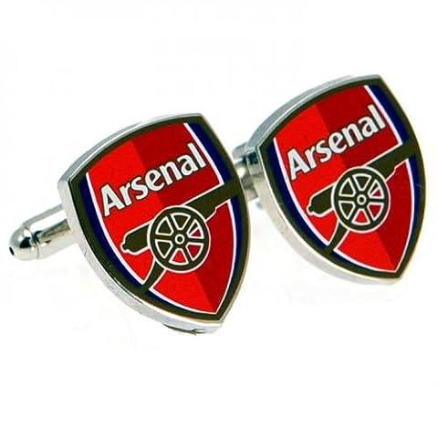 Geschenkideen-Motiv Arsenal FC Manschettenknöpfe, tolles Geschenk für Fußballfans