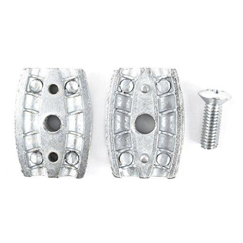 10 x SEILKLEMME EIFORM 2mm Aluminium Drahtseilklemme Stahlseil Seil Draht Stahl Drahtseil - 2