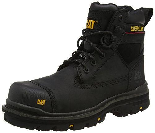 Caterpillar Gravel, Stivali di sicurezza, Colore Nero (Black), Taglia 12 UK (47 EU)