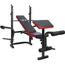 Ise banco de musculación multifoncion ajustable plegable fitness para entrenamiento completo sy5430b