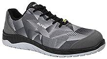 Elten Landon, scarpe antinfortunistiche da uomo, modello Low ESD S1, colore: grigio, sportive, super leggere, con punta in acciaio, 43, grigio, 1