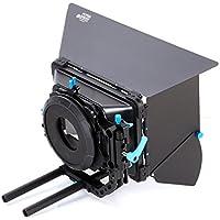FOTGA DP3000 M3 - Caja mate para cámara réflex digital (juego de roscas universales para objetivos, para cámaras con sistema de barras de 15 mm)