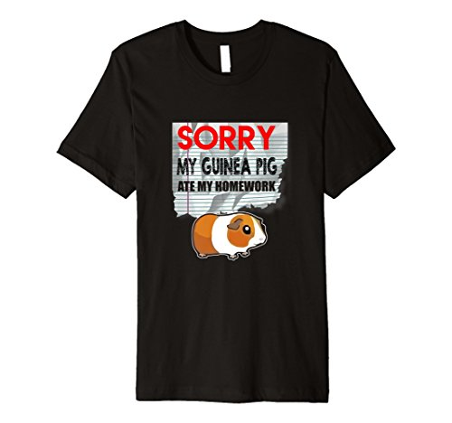 Funny Guinea Pig T-Shirt ATE Hausaufgaben Student School (Super Pig Kostüm)