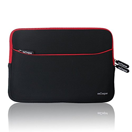 mcoque-doppio-colore-neoprene-sleeve-custodia-con-tasca-porta-accessori-per-hp-stream-11-laptop-nero