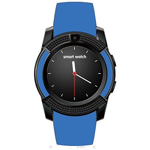 HealthMax HT V8 Blue Smartwatch Compatible With Xolo Play T1000 Mobiles