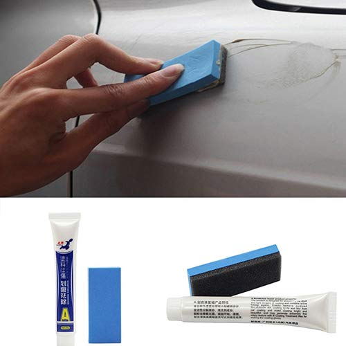 nieliangw0q Auto-Polierpaste Starke Dekontaminations-Kratzer-Reparatur-Entfernung Schleifmittel