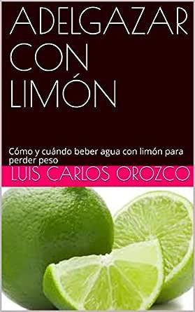 Se puede adelgazar bebiendo agua con limon